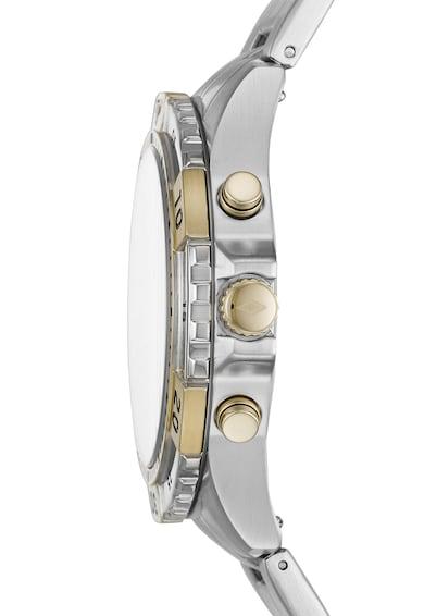 Fossil Часовник с метална верижка и хронометър Мъже