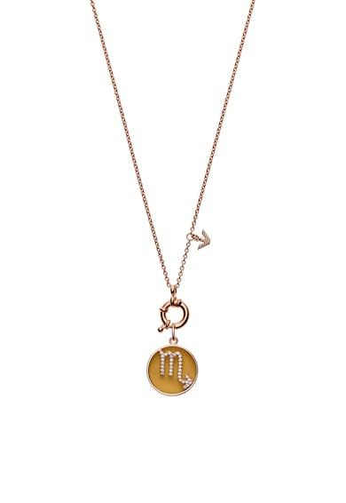 Emporio Armani Colier de argint veritabil cu pandantiv cu simbol Scorpion Femei
