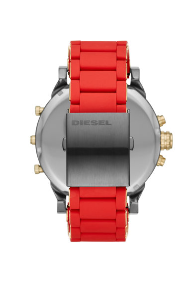 Diesel Ceas cronograf cu curea de silicon Barbati