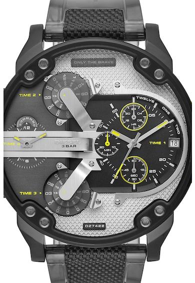 Diesel Ceas cronograf cu o curea de nailon Barbati