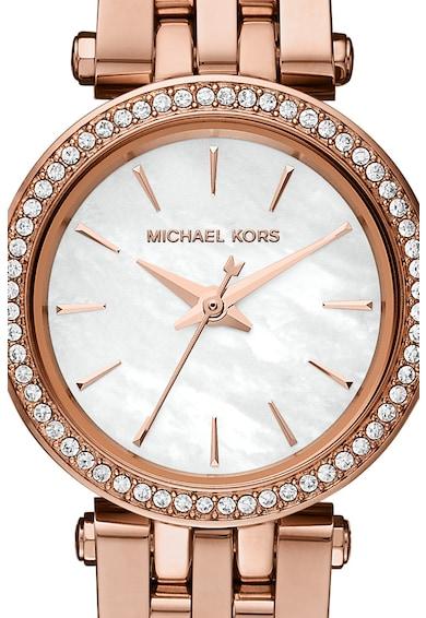 Michael Kors Ceas rotund din otel inoxidabil Femei