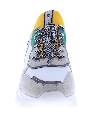 Bronx Спортни обувки Baisley с кожа и велур Жени