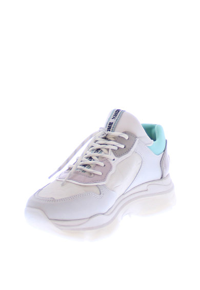 Bronx Кожени спортни обувки Baisley с велур Жени