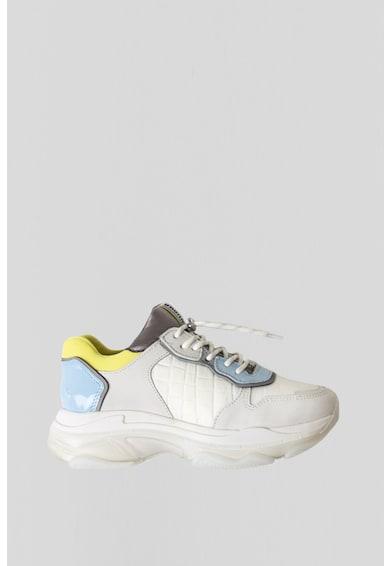Bronx Pantofi sport cu aspect masiv si garnituri de piele nabuc Baisley Femei