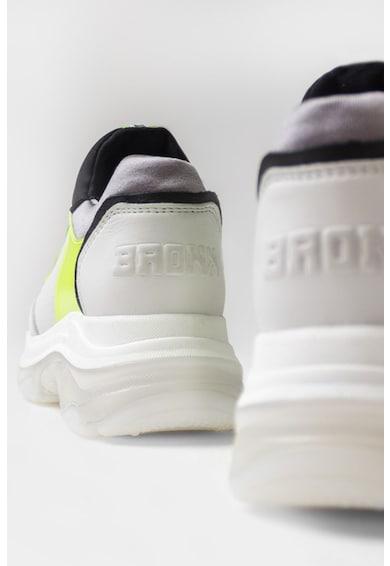 Bronx Pantofi sport slip-on cu aspect masiv si garnituri de piele nabuc Baisley Femei