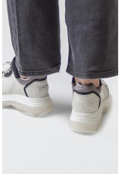 Bronx Pantofi sport de piele intoarsa si piele ecologica Baisley Femei