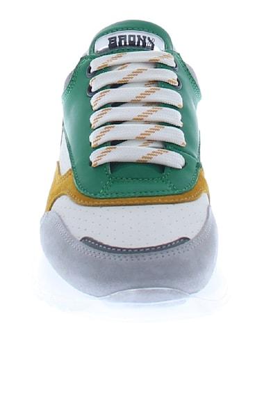 Bronx Спортни обувки Linkk-Up от велур и кожа Жени