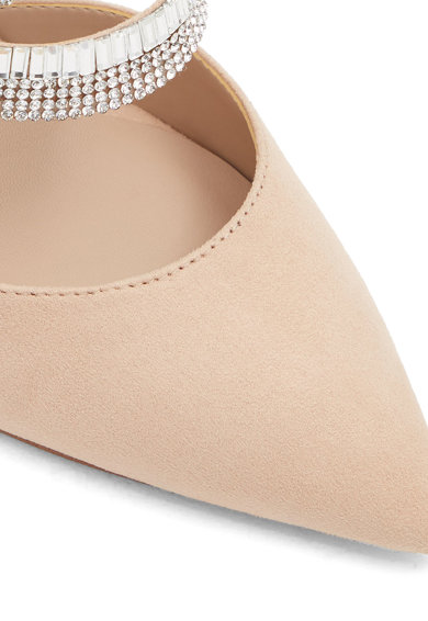 Aldo Noawia nyersbőr hatású hegyes orrú cipő női