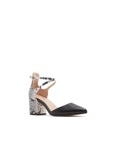Aldo Pantofi de piele ecologica, cu bareta pe glezna Brookshear Femei