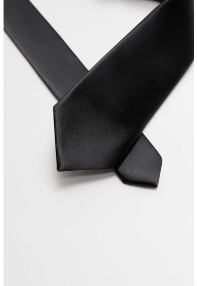 Mango Cravata de satin Barbati