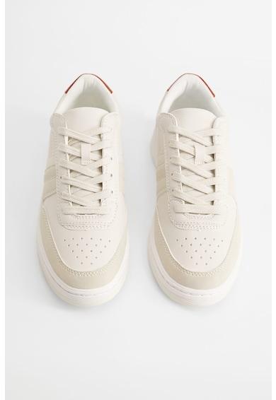 VIOLETA BY MANGO Pantofi sport de piele ecologica Claude Femei