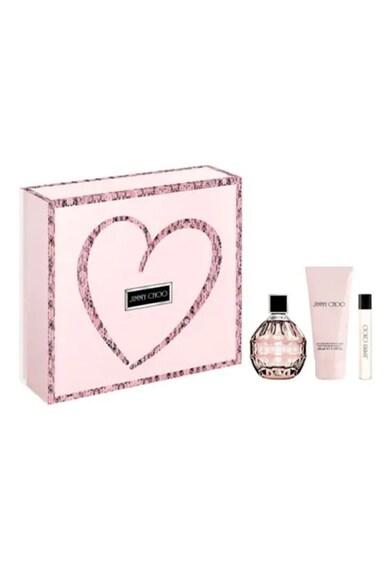 Jimmy Choo Set  Femei: Apa de Parfum, 100 ml + Apa de Parfum, 7.5 ml + Lotiune de corp, 150 ml Femei