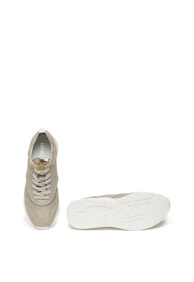 Liu Jo Pantofi sport din piele intoarsa cu aspect stralucitor Karlie Femei
