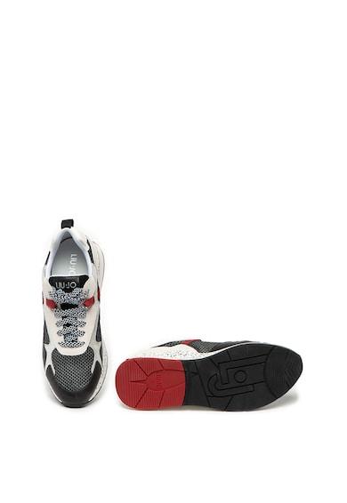 Liu Jo Pantofi sport cu insertii din piele intoarsa si talpa cu pete decorative Karlie Femei