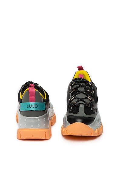 Liu Jo Pantofi sport cu garnituri din piele si plasa Wave 01 Femei