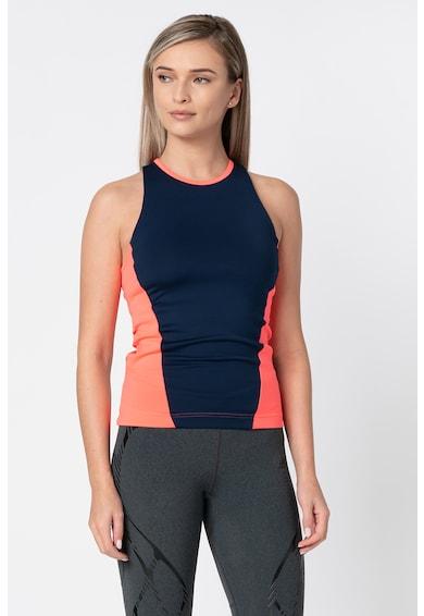 Adidas PERFORMANCE Top cu aplicatie logo, pentru fitness Femei