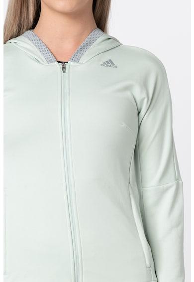 Adidas PERFORMANCE Hanorac cu logo, pentru fitness Femei