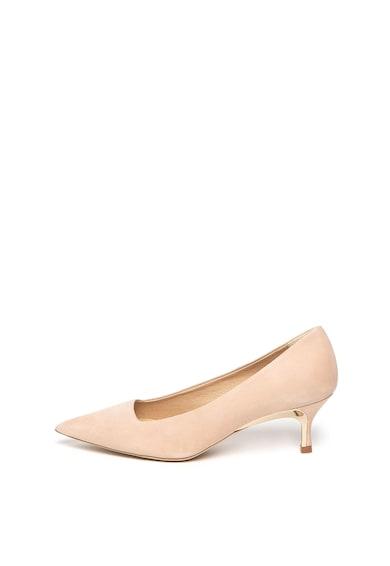 Furla Pantofi din piele nabuc, cu varf ascutit Femei