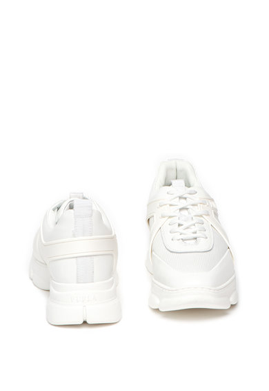 Furla Pantofi sport cu insertii din piele si talpa wedge Femei