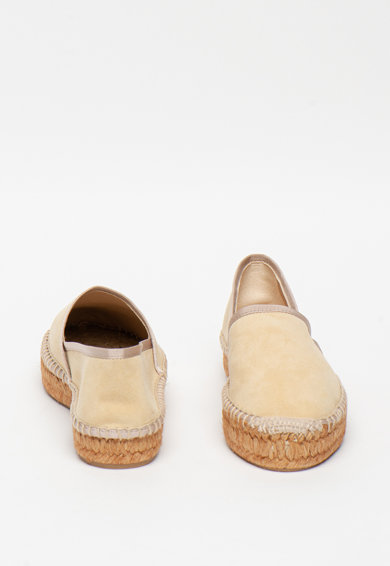 Furla Easy bebújós nyersbőr espadrille cipő női