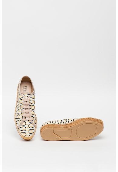 Furla Easy absztrakt mintájú espadrille sneaker női