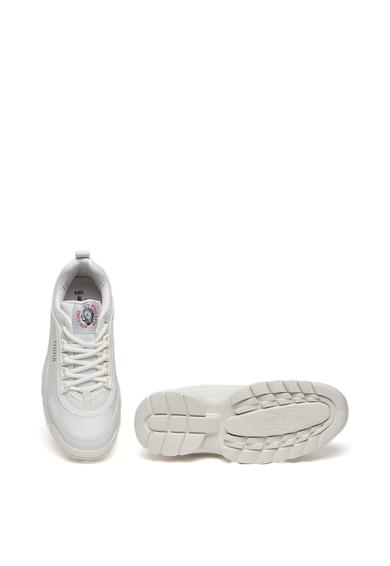 U.S. Polo Assn. Pantofi sport de piele ecologica cu talpa striata Meiko Femei