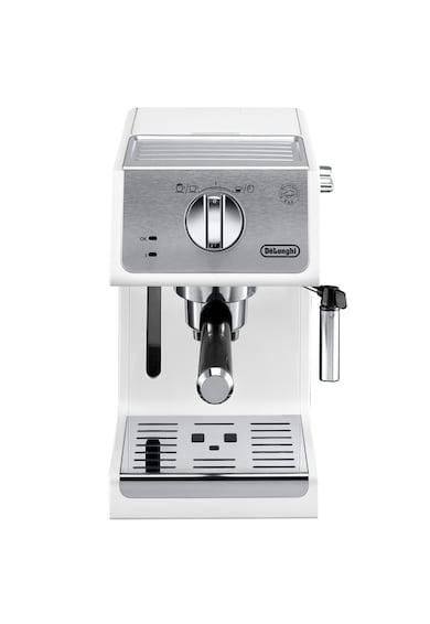 DeLonghi Espressor manual  Active line ECP33.21.W, 1100 W, 1.1 L, 15 bar, Sistem Cappuccino, Alb Femei