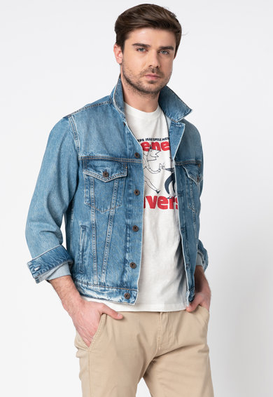 Pepe Jeans London Jacheta din denim Barbati