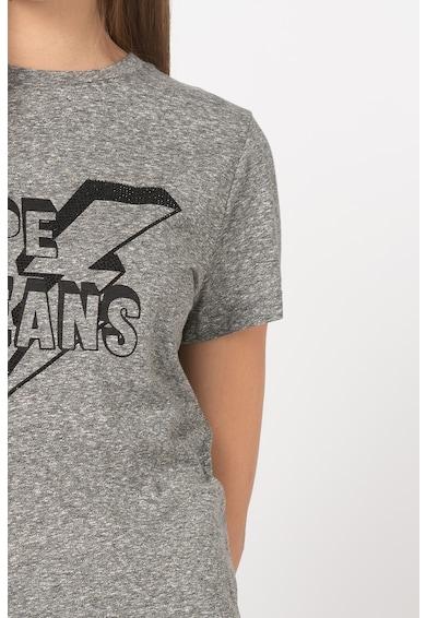 Pepe Jeans London Tricou cu imprimeu logo Clover Femei