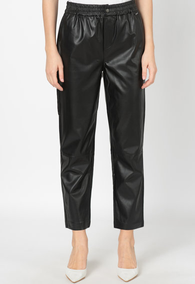 Pepe Jeans London Pantaloni din piele ecologica Moira Femei