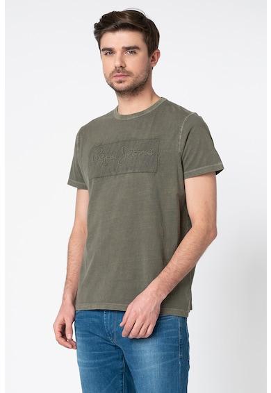 Pepe Jeans London Tricou regular fit cu imprimeu logo Billy Barbati