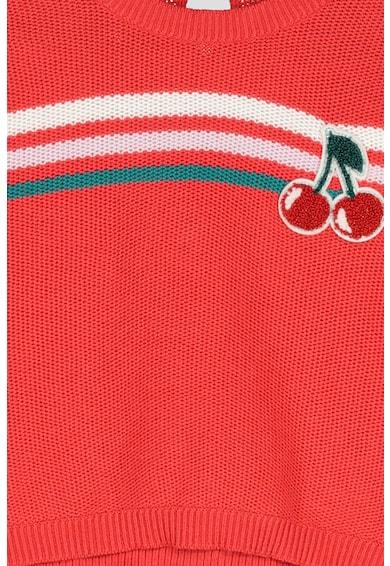 United Colors of Benetton Pulover cu decolteu la baza gatului Fete