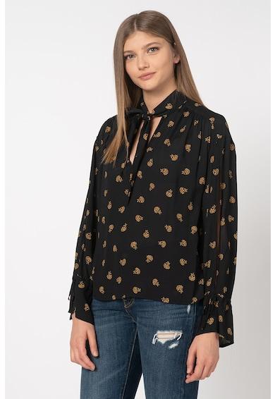 Pepe Jeans London Bluza vaporoasa cu imprimeu floral Gigi Femei