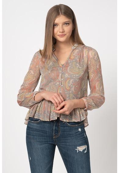 Pepe Jeans London Bluza cu imprimeu paisley Theresa Femei