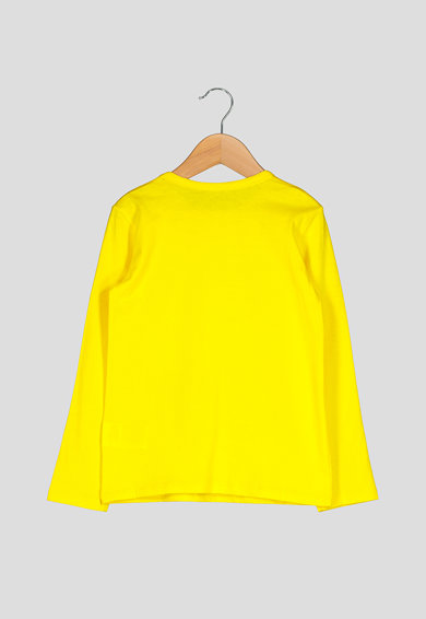 United Colors of Benetton Bluza cu paiete reversibile Fete