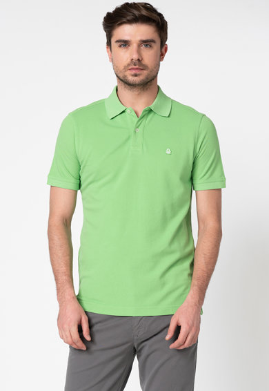 United Colors of Benetton Tricou polo din bumbac Barbati
