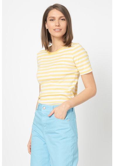 United Colors of Benetton Tricou cu model in dungi Femei
