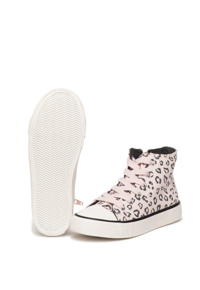 United Colors of Benetton Tenisi mid-high cu animal print Fete