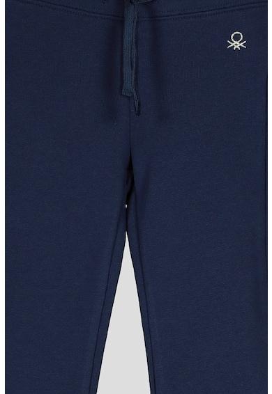 United Colors of Benetton Pantaloni sport cu logo discret Fete