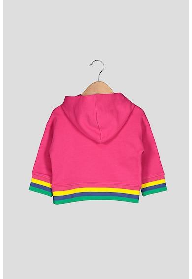 United Colors of Benetton Hanorac cu garnituri contrastante Fete