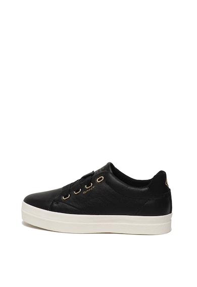 Gant Pantofi sport flatform de piele Avona Femei