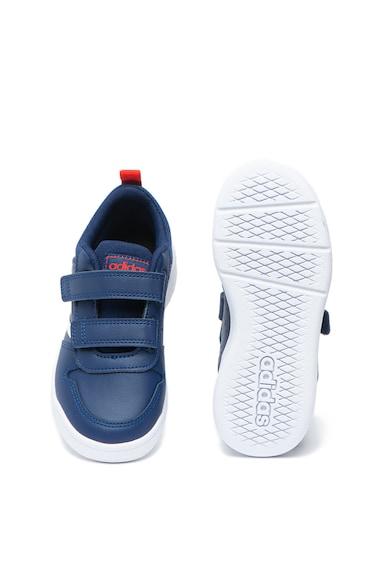 Adidas PERFORMANCE Pantofi sport cu inchidere velcro si insertii din piele Tensaur Baieti