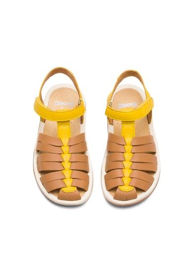 Camper Sandale de piele cu velcro Bicho Fete