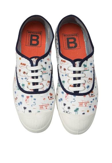 Bensimon Pantofi sport cu model grafic Femei