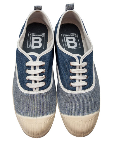Bensimon Tenisi slip-on de denim Femei