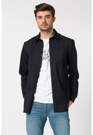 GUESS JEANS Вталена риза Collins Мъже