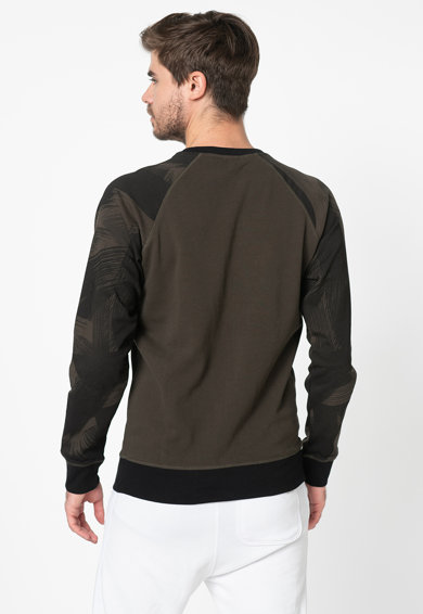 Diesel Bluza sport de casa, cu imprimeu logo Max Barbati