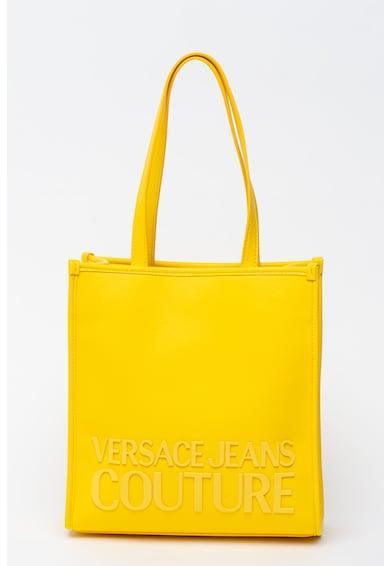 Versace Jeans Couture Geanta tote de piele ecologica cu logo cauciucat Femei