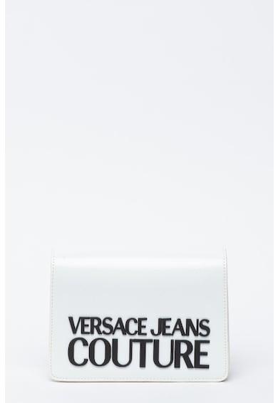 Versace Jeans Couture Geanta crossbosy de piele ecologica cu logo cauciucat Femei