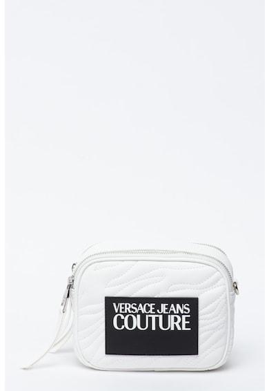 Versace Jeans Couture Geanta crossbody din piele ecologica cu logo cauciucat Femei